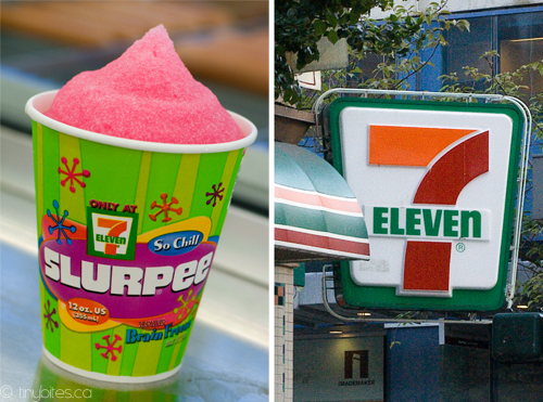 Free slurpees at 7Eleven on 711  Did you line up for an