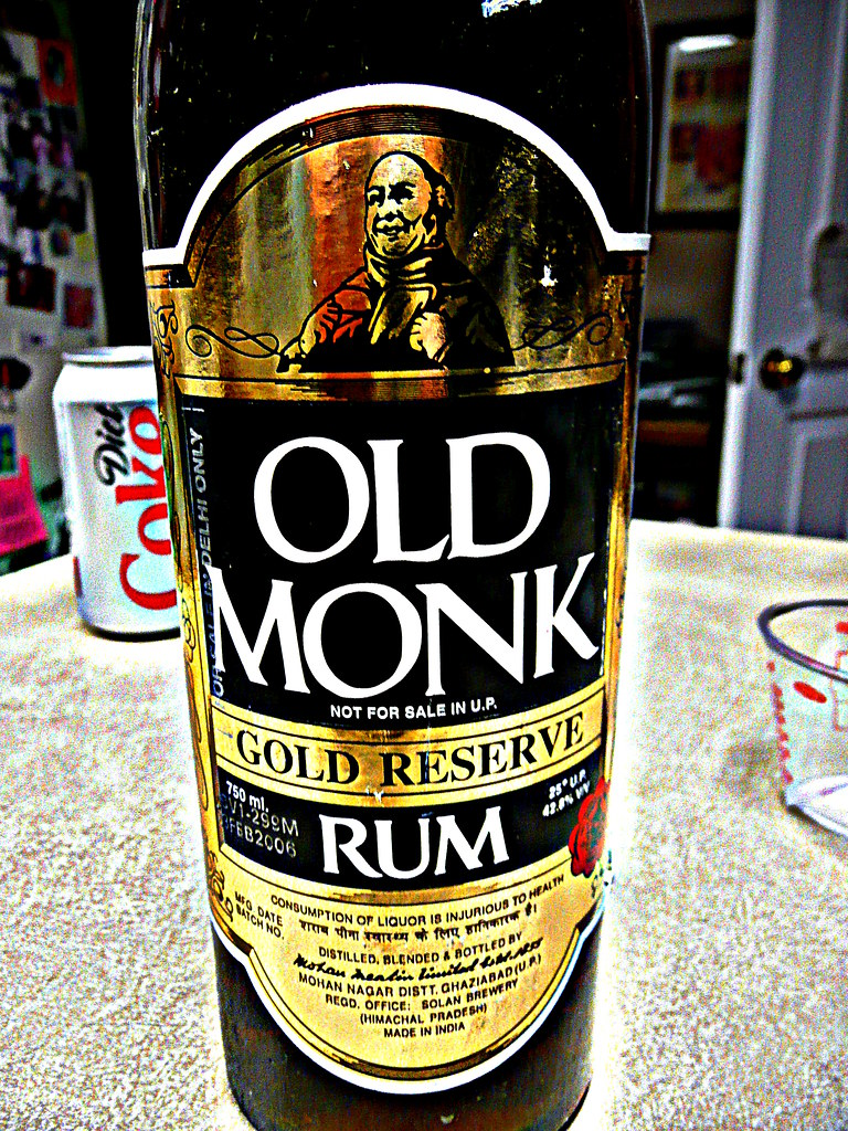 Old Monk Gold Reserve 12 Year Old Rum  _BuBBy_  Flickr
