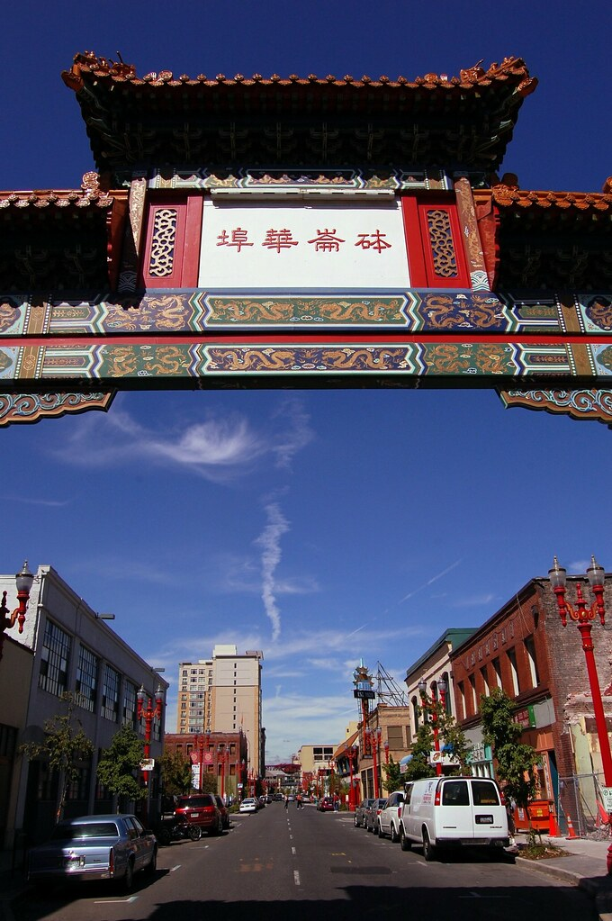 Chinatown Portland Oregon  Portlands Chinatown is