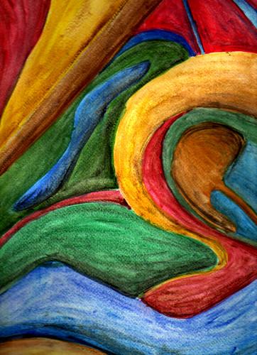 Tcnicas de Dibujo pintura abstracta  laurita_mza  Flickr
