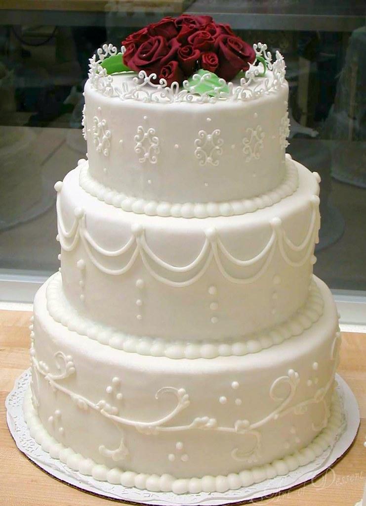 Wedding Cake Class Fondant My First Fondant Covered