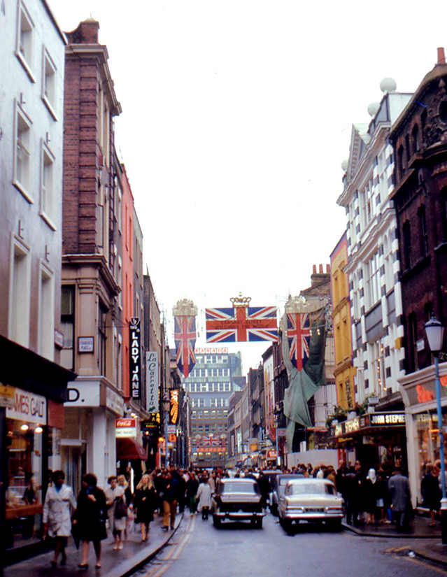 London  Carnaby Street 1968  Swinging England was