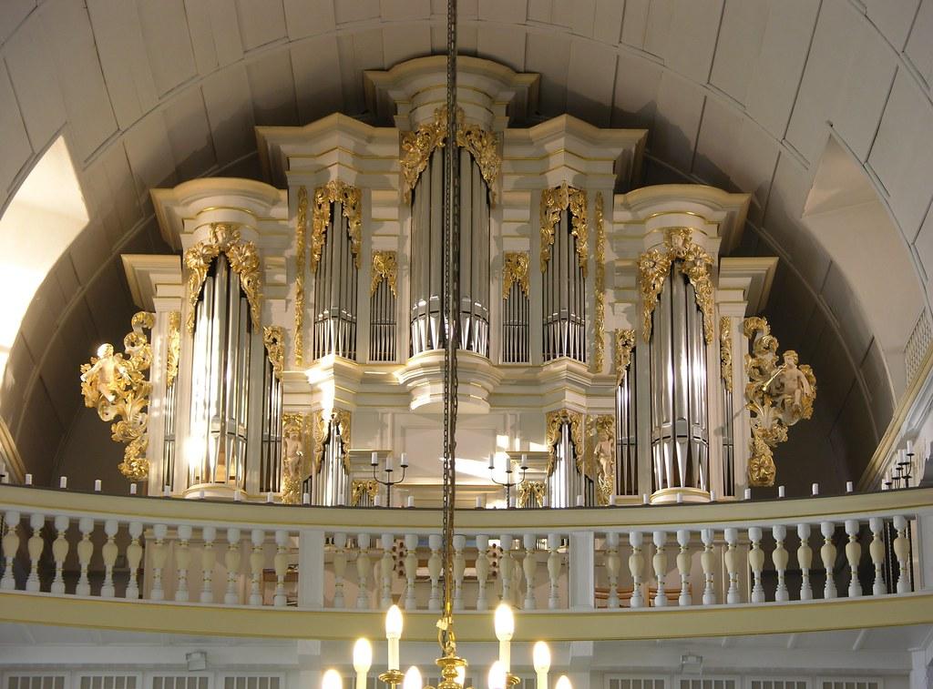 Arnstadt Germany  Bachkirche  Bach organ  Organ built
