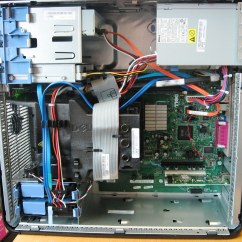 Dell Optiplex 390 Motherboard Diagram Lewis Dot For F Inside An 755mt A View The Case Of