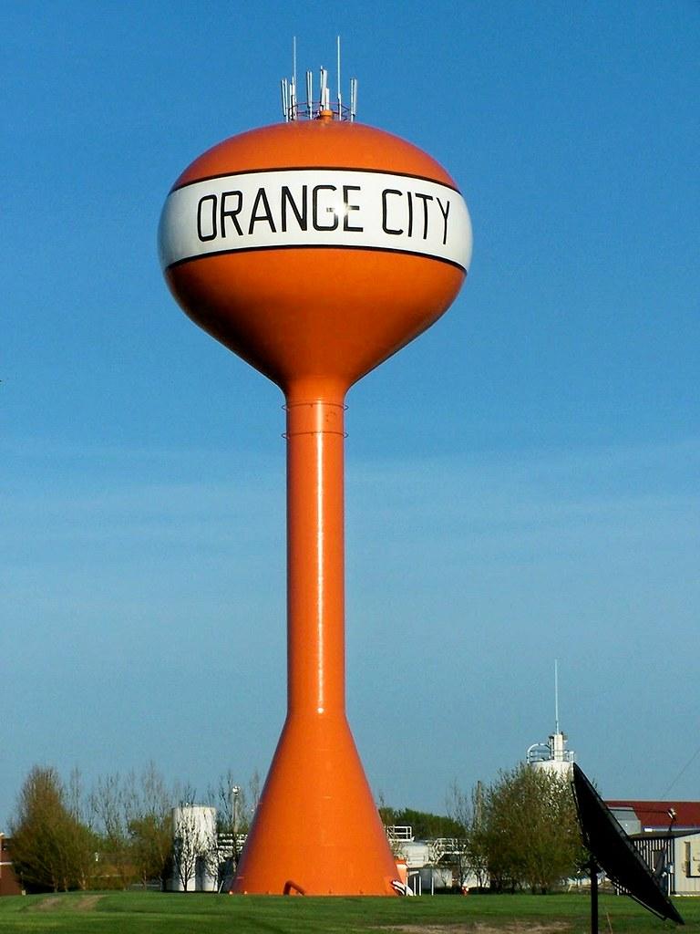 Orange City Iowa Water Tower  J Stephen Conn  Flickr