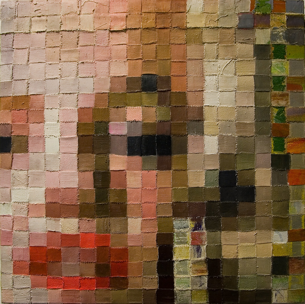 Pixel Painting Marilyn Monroe Exhibition Gehag Forum 9