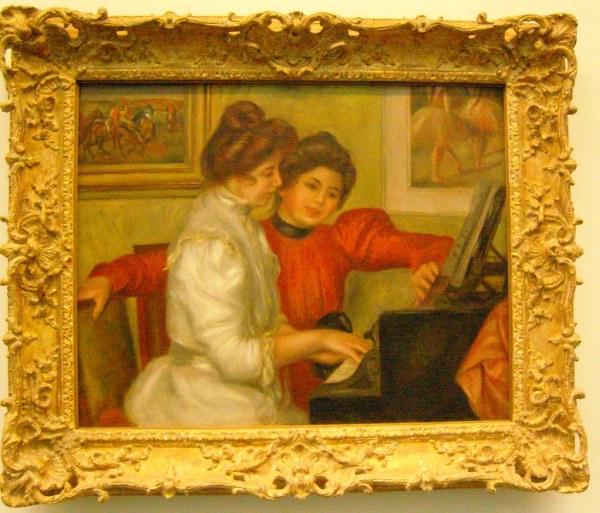 Louvre Tuileries Renoir Frrique Panassac