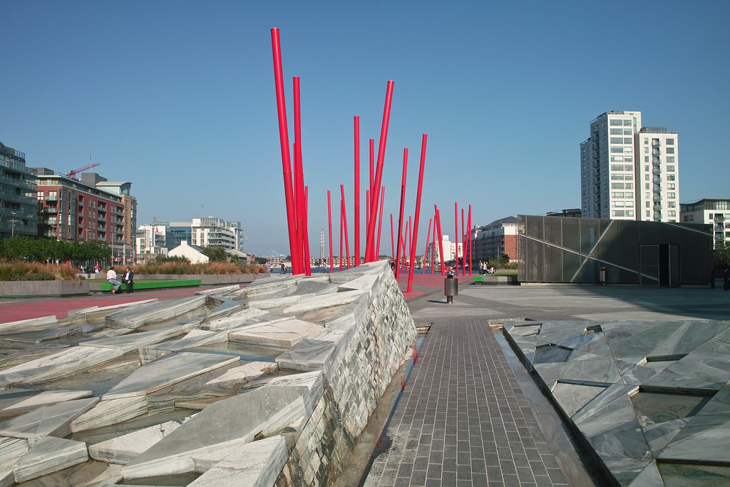Grand Canal Square Dublin Docklands Grand Canal Square