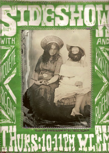 Sideshow Poster  Snake Charmer and Bearded Lady  Promo