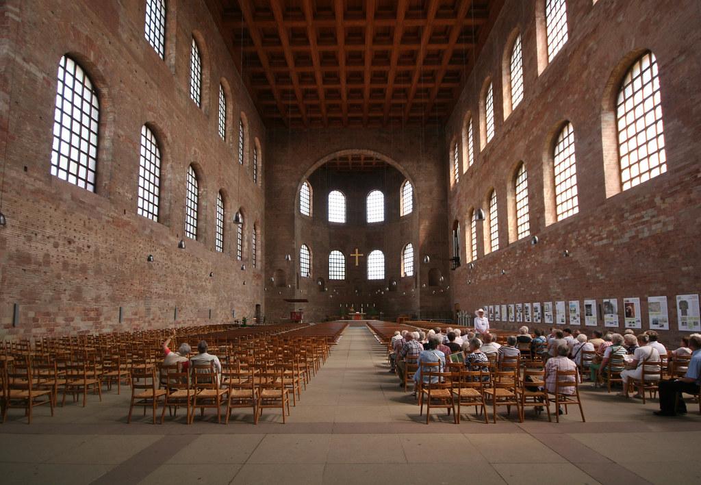 Trier Basilica Basilica Of Constantine Or Aula Palatina