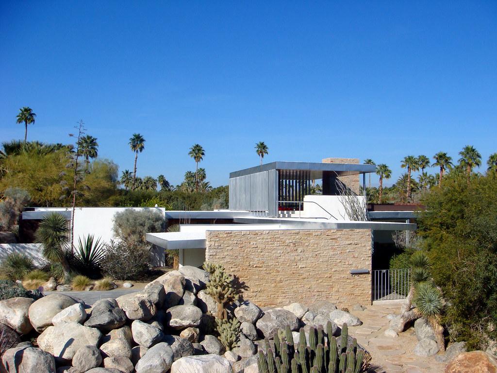 Kaufmann House in Palm Springs by Architect Richard Neutr