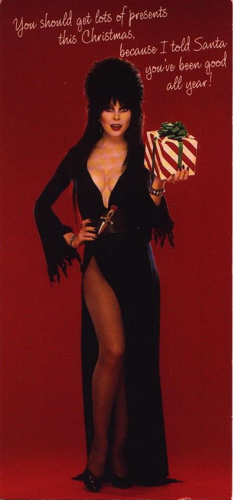 Elvira Greeting Card 3 Elvira Greeting Card From 1987