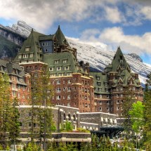 Banff Springs Hotel Centre Block And South Wing. Evan