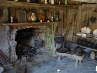 Early Settler's House on Banks Peninsula New Zealand