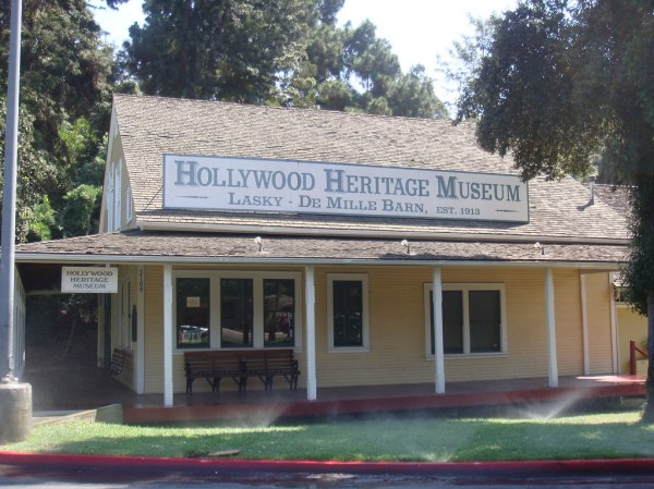 The Hollywood Heritage Museum Cecil BDeMille39s 1st studi