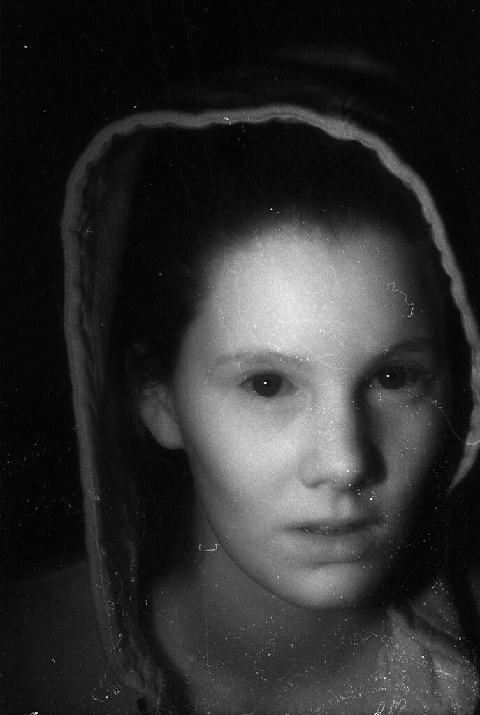 Infrared Portrait  Haunted Infrared Nikon F2 Nikon 55mm f  Flickr