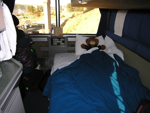 Lower bunk Amtrak deluxe room  Location California on the C  Flickr