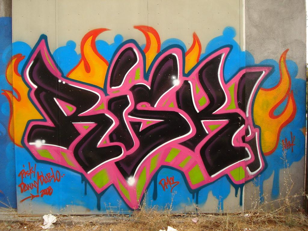 3d Art Wallpaper Girl Risk Msk Wca Dms Seventhletter Losangeles Graffiti Art