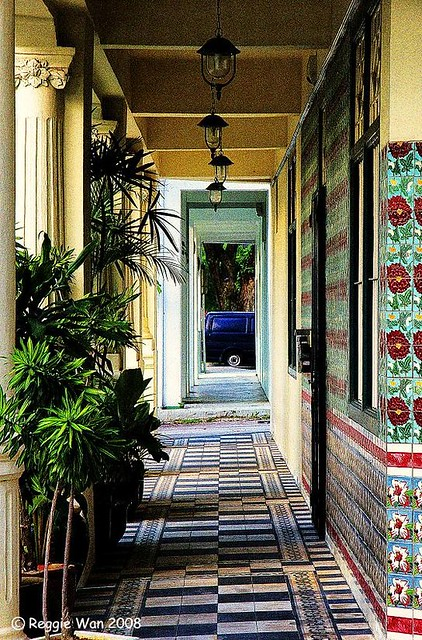 Peranakan Houses In Singapore Camera Used Sony DSLR