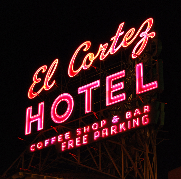 El Cortez Hotel and Casino - 600 East Fremont Street, Las Vegas, Nevada U.S.A. - January 21, 2006