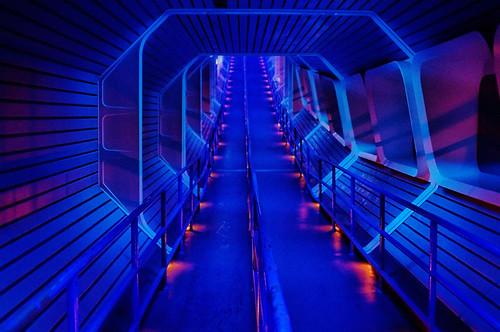3d Hd Vaporwave Wallpaper Disney Space Mountain Star Tunnel Flickr Photo Sharing
