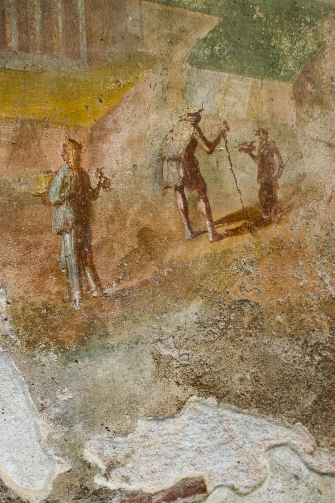 Pompeii Interior Mural Detail Pompeii Interior Mural