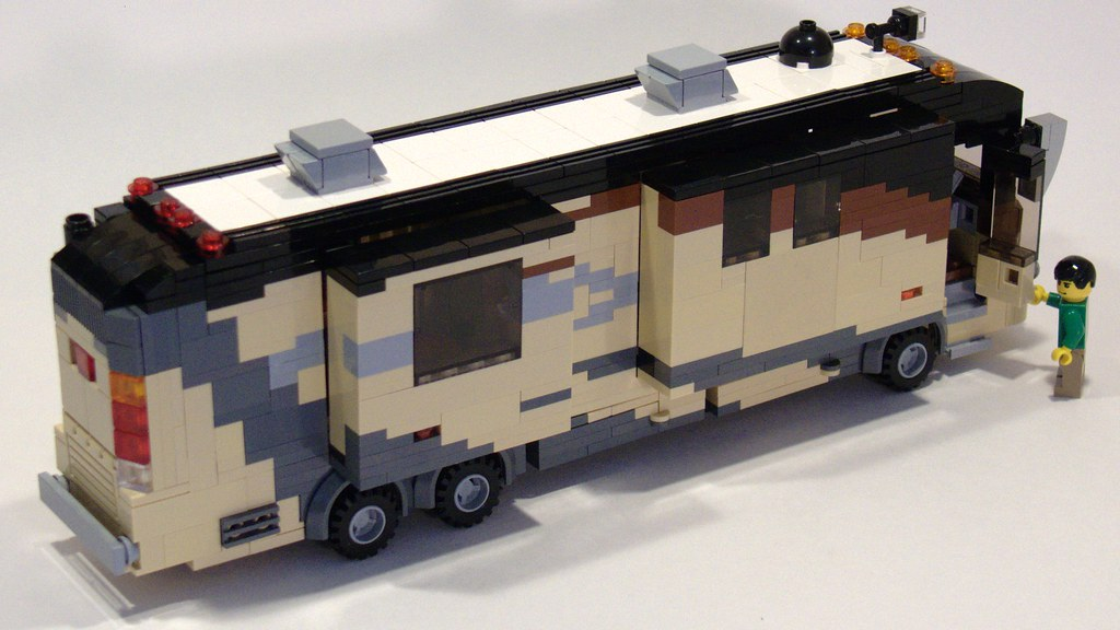 Climb Aboard  This highend luxury motorhome allows you