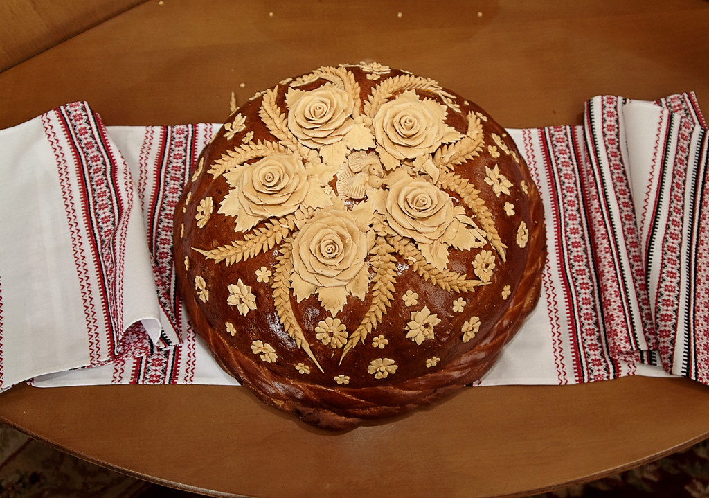The Korovai Ukrainian wedding bread  he korovai is a very  Flickr