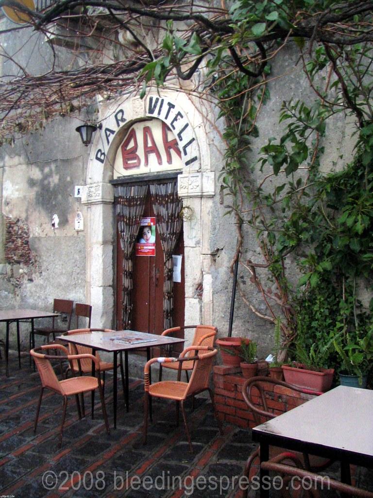 Bar Vitelli from The Godfather in Savoca Sicily  Flickr