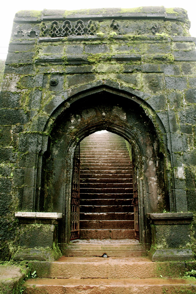 Fort Gate at the Raigad  This is the East Gate at the