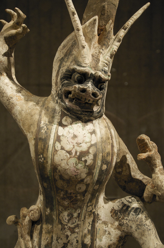 Asian demon scupture  From the museum website With approx  Flickr