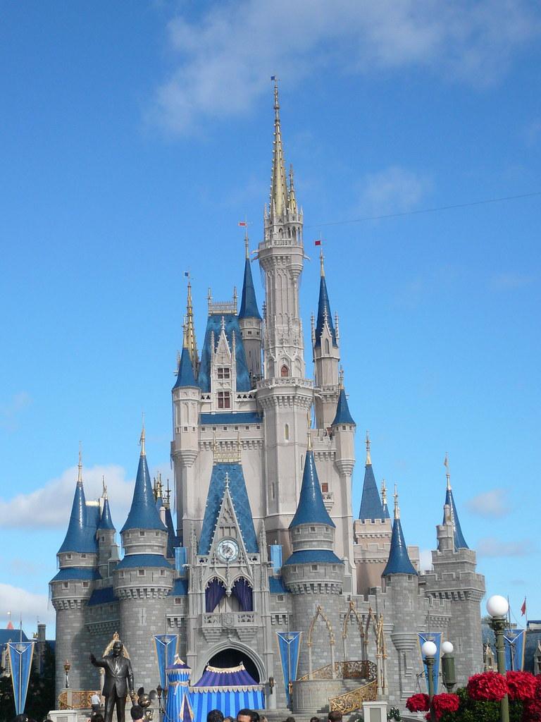Christmas At Cinderella Castle Magic Kingdom Walt Disney W