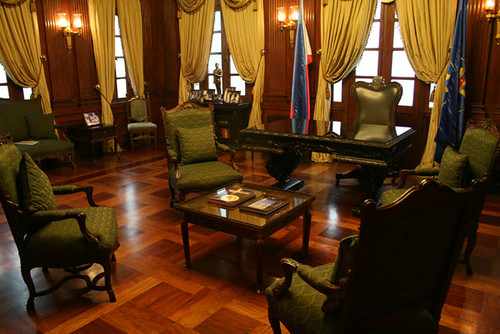 Quezon Room Malacanang Palace  This was the former