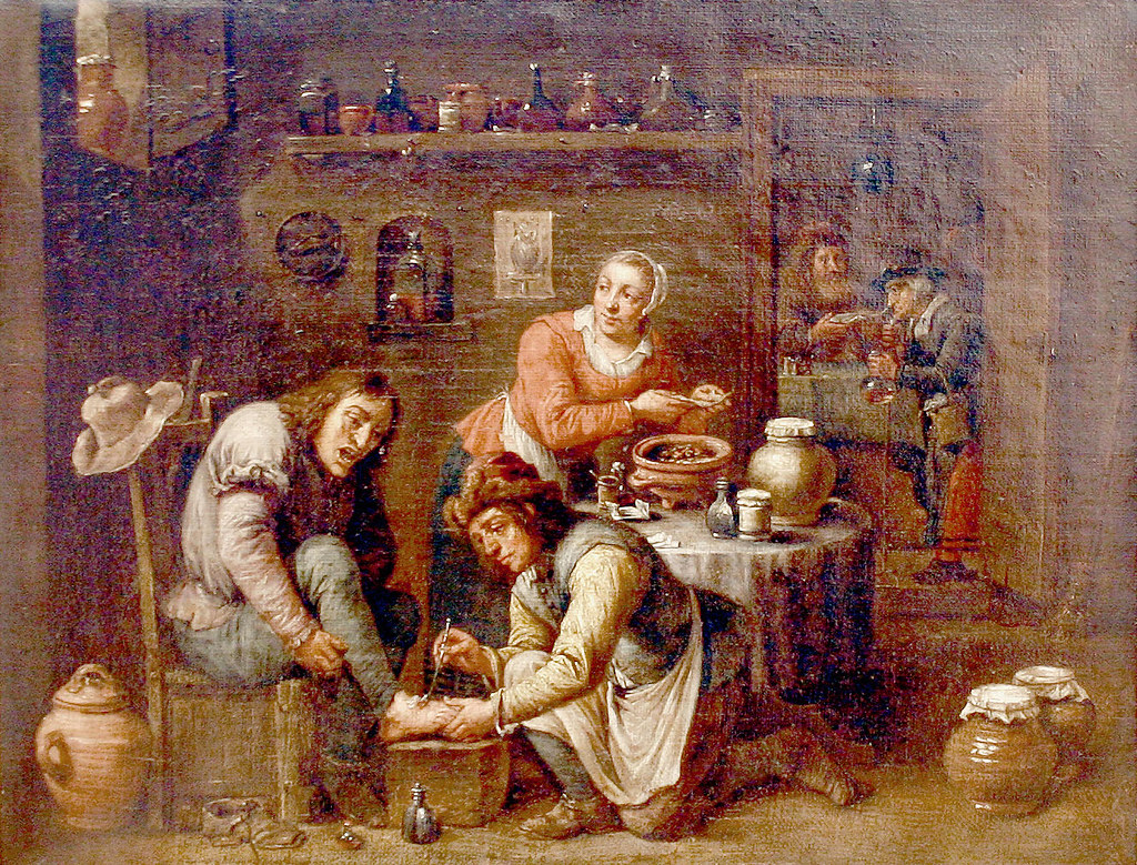 School of David Teniers the Younger Foot operation 1663