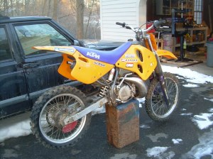 1994 KTM 300exc Done! | I recently bought another KTM 300