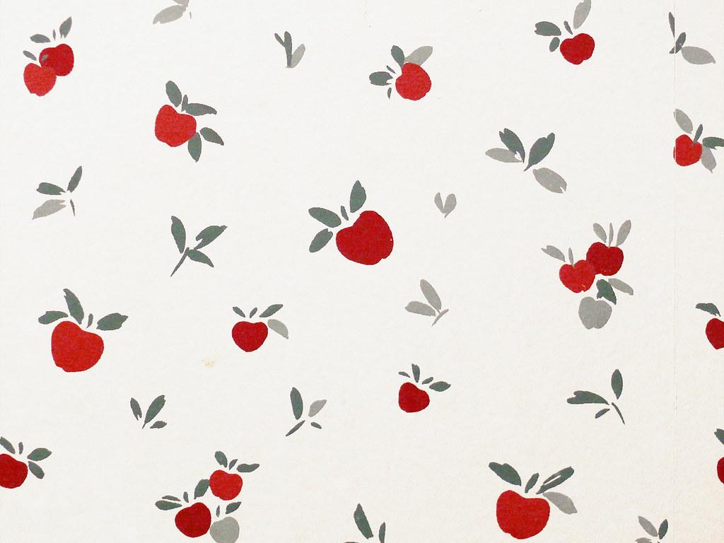 Apples Wallpaper Wenatchee La Quinta Inn bathroom  Flickr