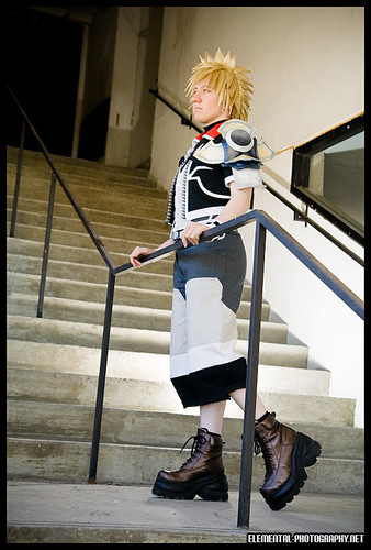 Kingdom Hearts Birth by Sleep  Ventus cosplay at Anime