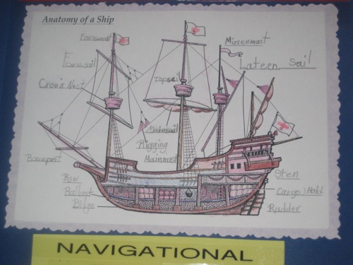 Ship Anatomy  Columbus Lapbook by Zippy age 8 See my blog  Flickr