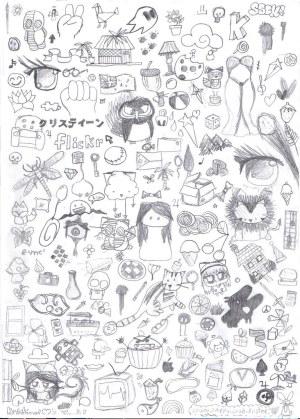 random drawings doodles bored start flickr medium