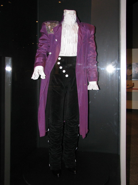 Purple Rain  Like his music Princes costume from his