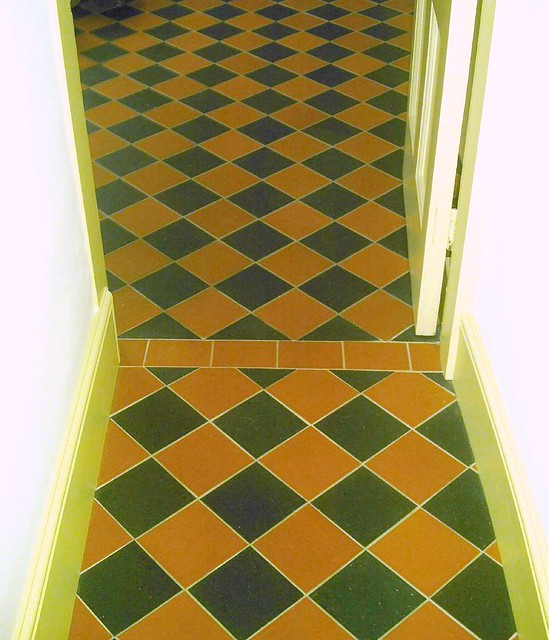 tiles for kitchen floor curtain panels tile blkly | ruabon red/black quarry ...