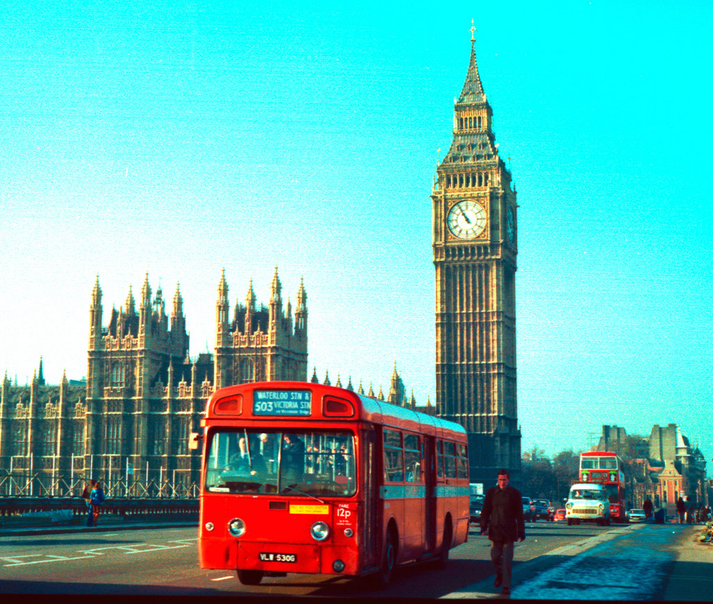 London Clock Tower Christmas 1978  Over 2000 Views  Flickr