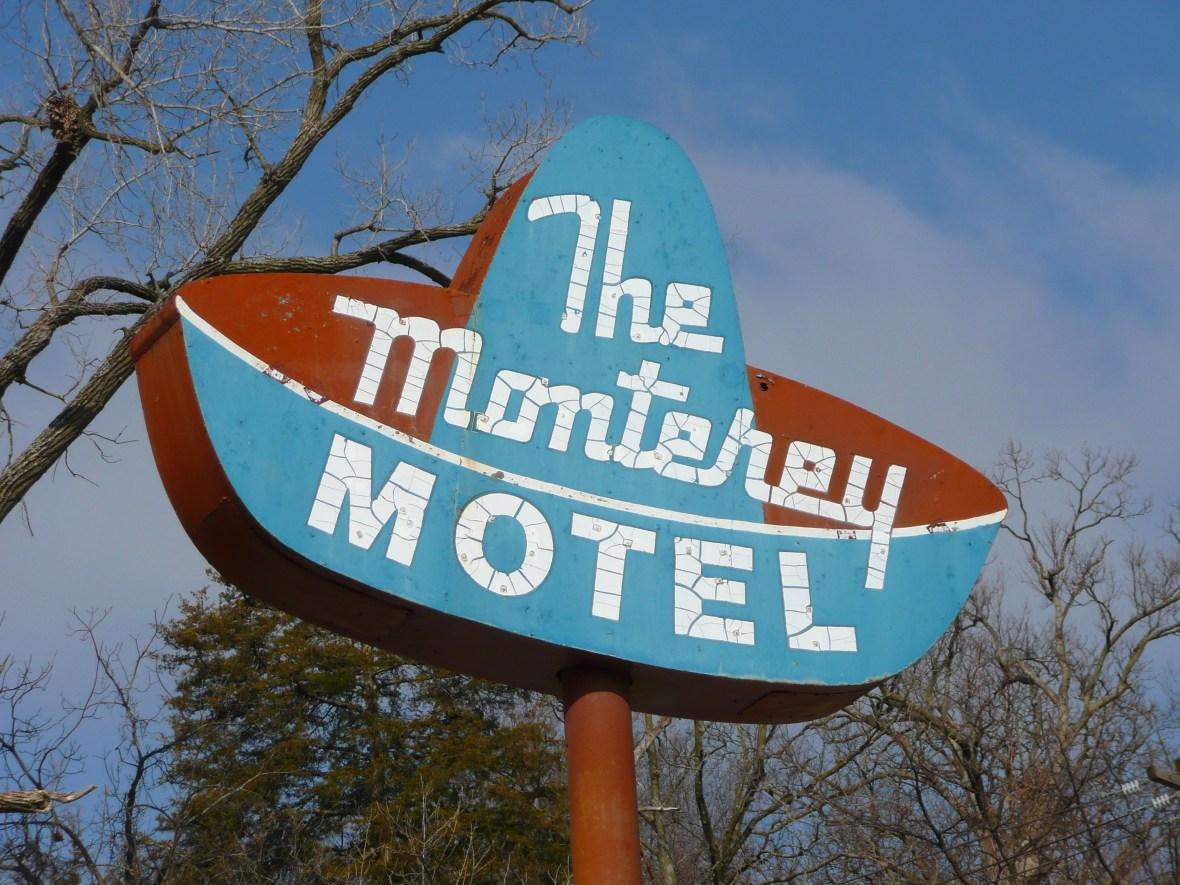 The Monterey Motel - 217 Veterans Memorial Drive, Excelsior Springs, Missouri U.S.A. - March 19, 2008