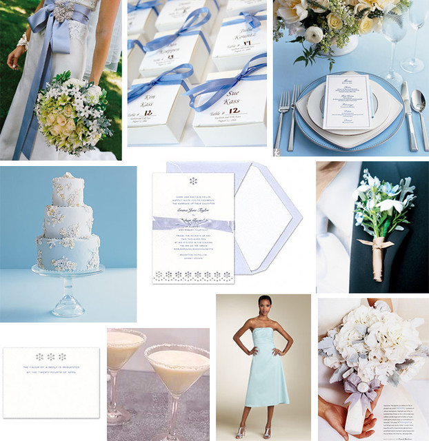 Wedding Wednesday  Light Blue Eyelet wedding  Images