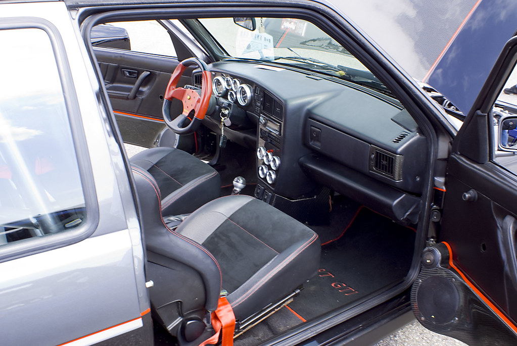 Vagkraft 2008  165  VW MK2 Golf GTI DUBLYF Interior  Flickr