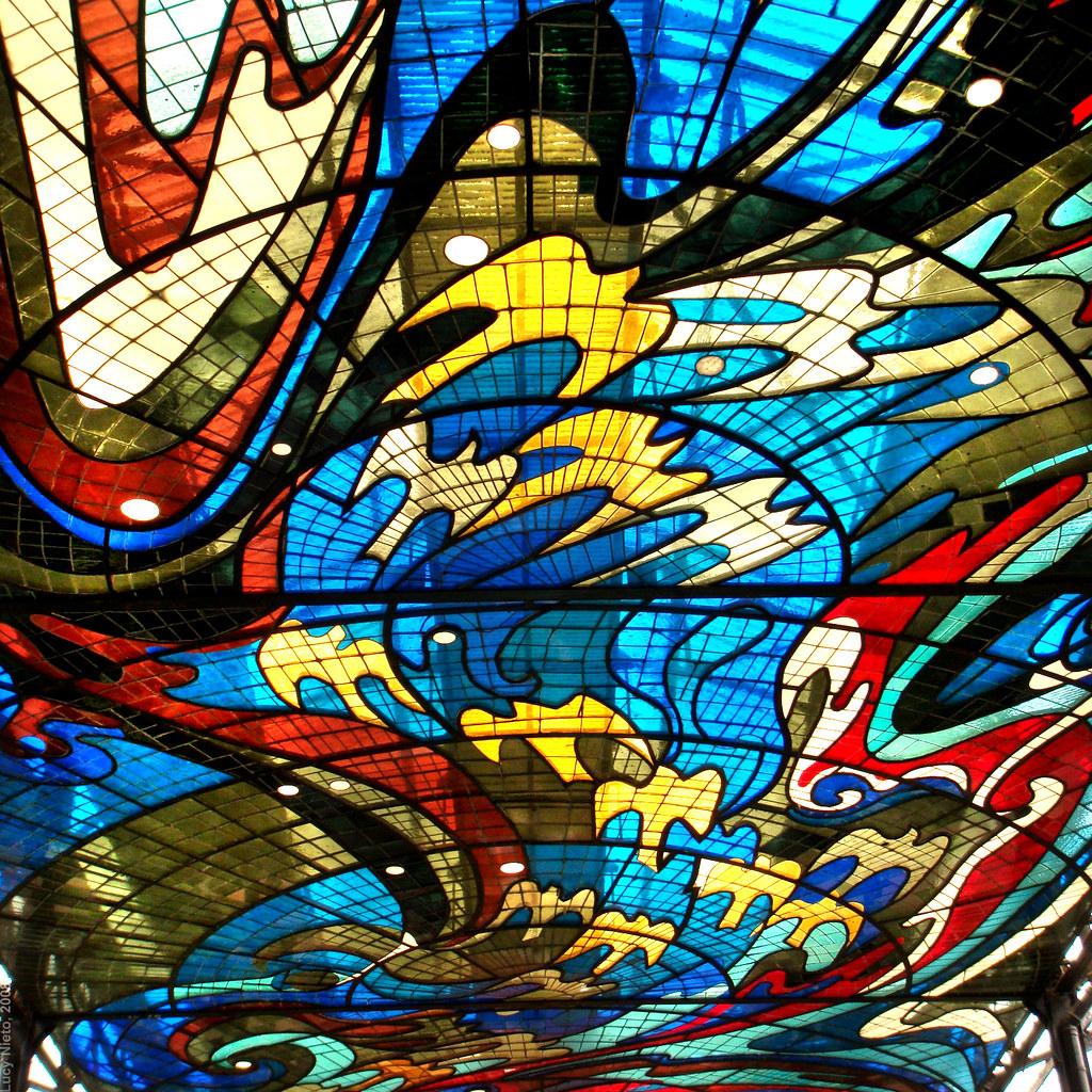 Cosmovitral detalle de vitrales  Toluca Mxico 2008 943