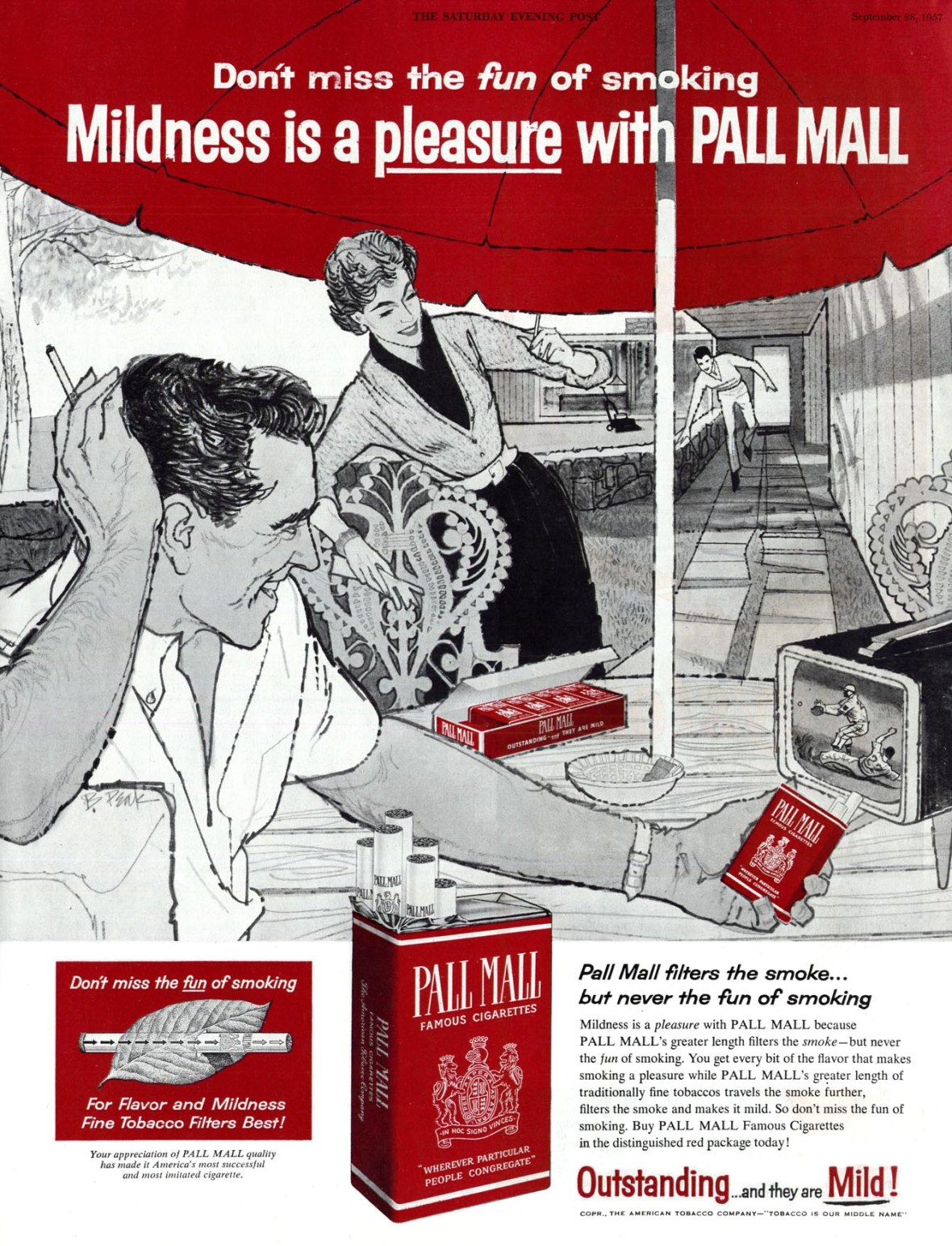 Pall Mall - published in The Saturday Evening Post - September 28, 1957