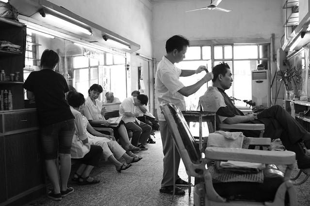 Old Hair Salon i  I found this unnoticed hair salon