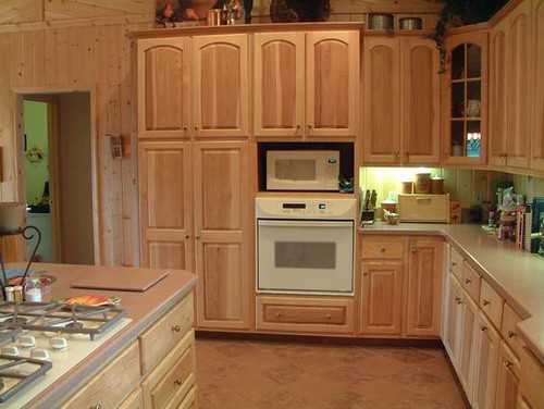 Hickory kitchen cabinets  Udo Schmidt  Flickr