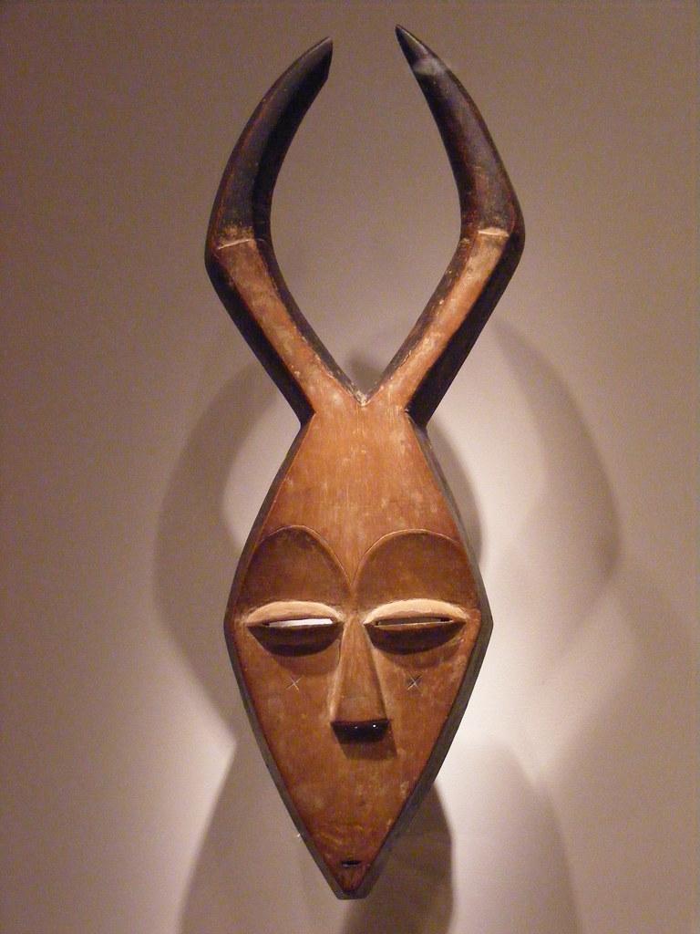 NMAfA_Mask Kwele people Gabon  From the African